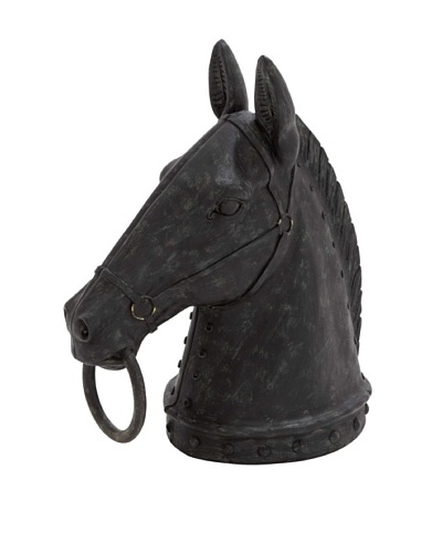 Horse Head Towel Holder I