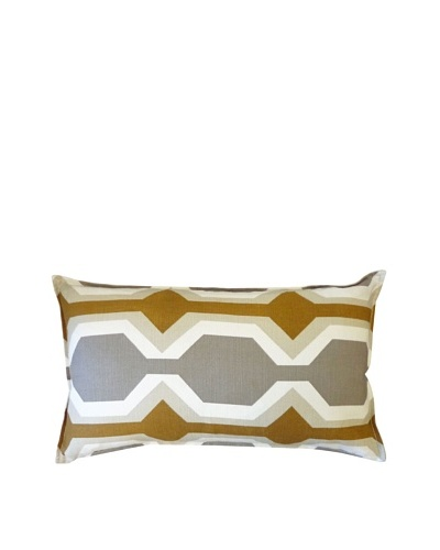Freeway Throw Pillow, Brown
