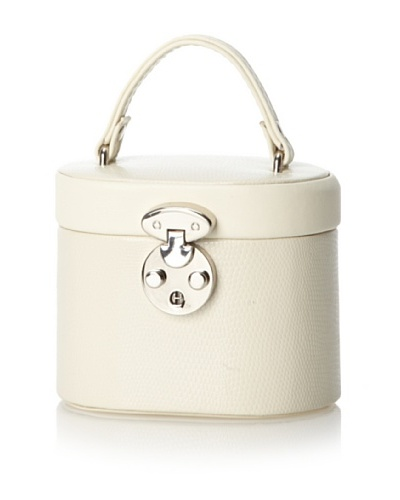 Charlotte Mini Jewelry Box, Winter White
