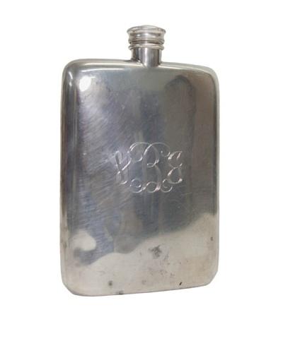 Vintage Circa 1920 Monogrammed Flask