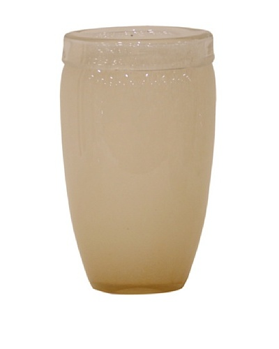 Ivory Oval Vase