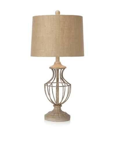 Hampton Table Lamp, Taupe