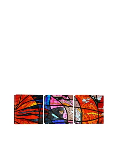 Stained Glass Window (Panoramic), 48 x 16As You See