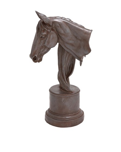 Horse Head Accent Sculpture