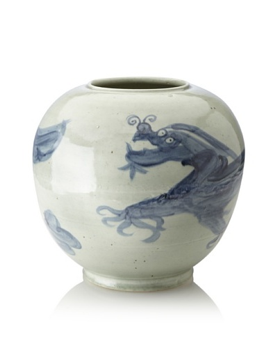 Soft Blue/Celadon Dragon Jar