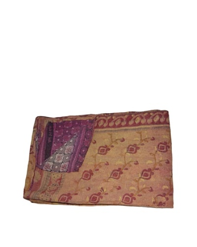 "Vintage Parul Kantha Throw, Multi, 60"" x 90"""