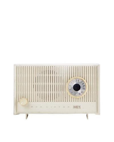 Vintage RCA Radio, White