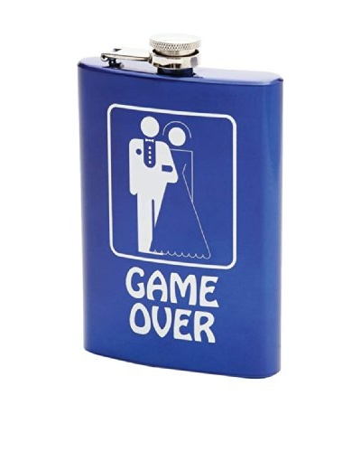 Game Over Stainless Steel Flask