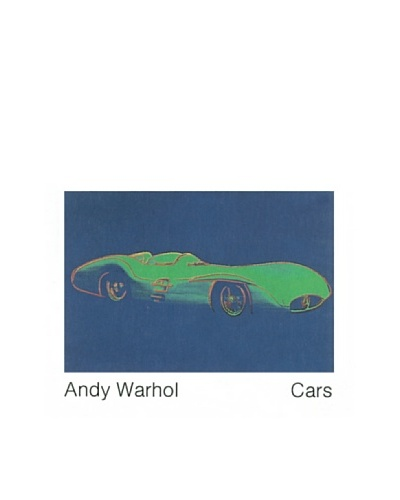 Andy Warhol: Formula 1 Car W196 R (1954)