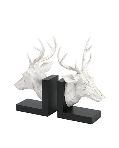Set of 2 Joseph Deer Head Bookends