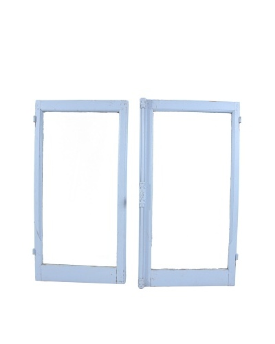 Pair of French Windows, Blue
