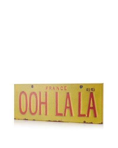 Greg Constantine Ooh La La Giclee on Cork Board