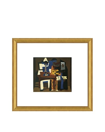 Pablo Picasso Three Musicians Framed Art