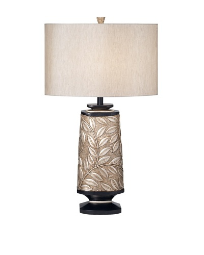 Marrakesh Garden Table Lamp, Softly Silvered