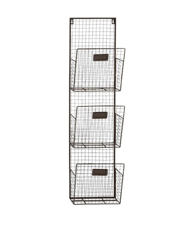 Metal 3-Tier Wall Organizer