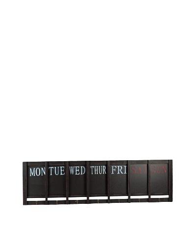 7-Days-a-week Wooden Blackboard