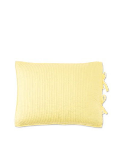 Dawn Pillow Sham, Yellow/Coral, Standard
