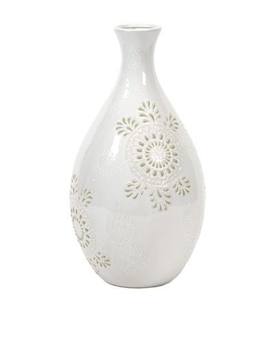 Kayla Wide Pattern Vase