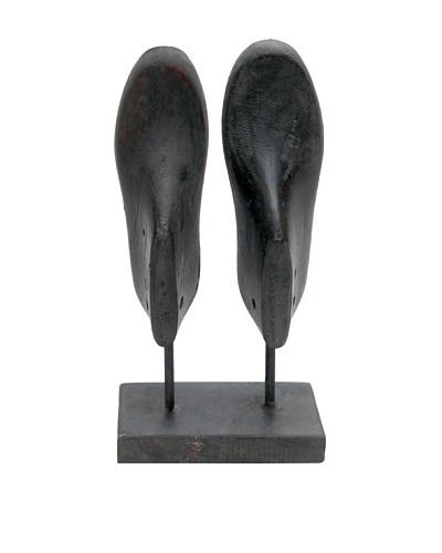 Double Shoe Mold, Ebony, Brown