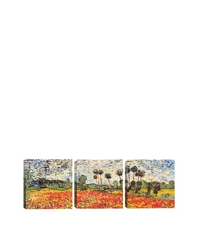 Field of Poppies by Vincent Van Gogh (Panoramic), 48 x 16As You See