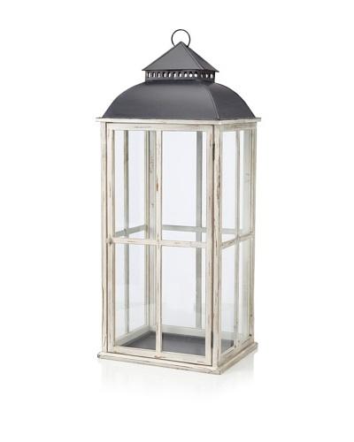 Belle Maison Window Pane Design Lantern