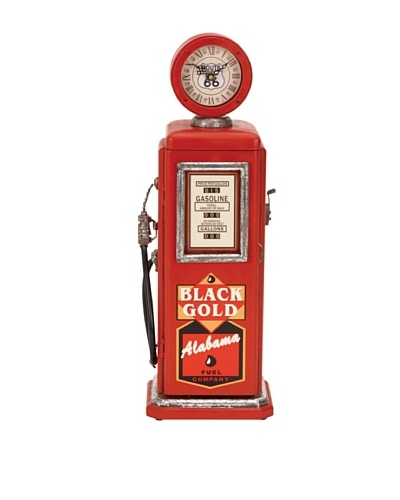 Decorative Wooden Gas Pump