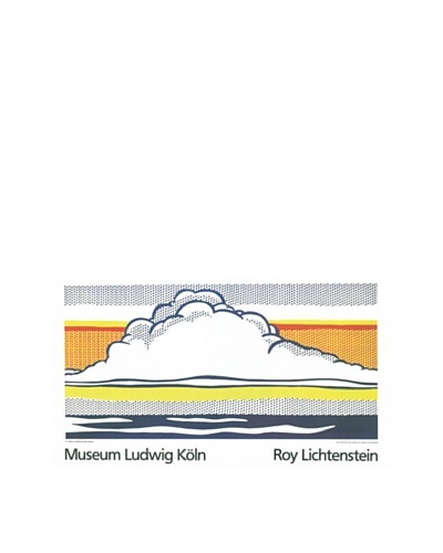 Roy Lichtenstein: Cloud and Sea