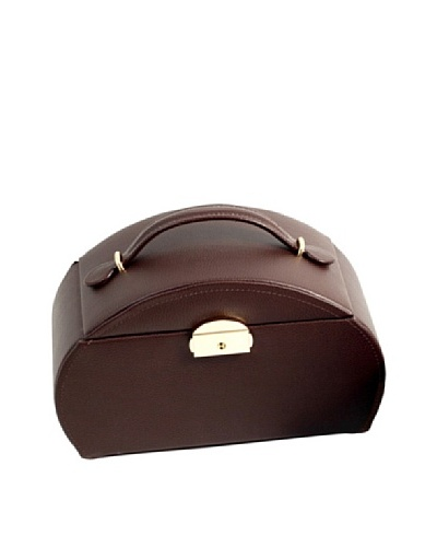 Brown Leather Jewelry Storage, Brown
