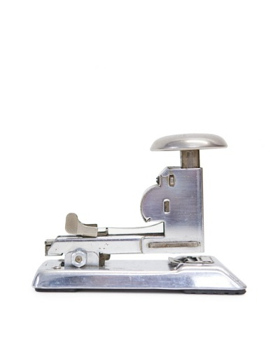 Vintage Stapler, Silver