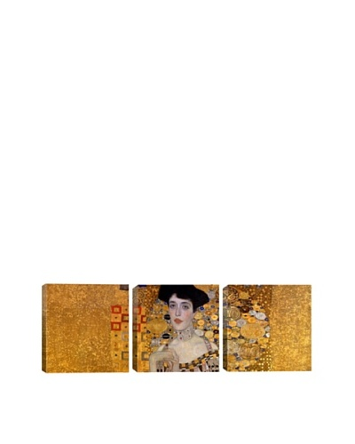 Portrait of Adele Bloch-Bauer I by Gustav Klimt (Panoramic), 48 x 16As You See