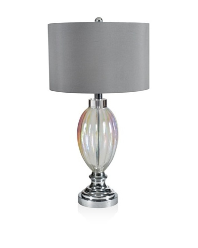 Table Lamp [Silver Clear Glass]