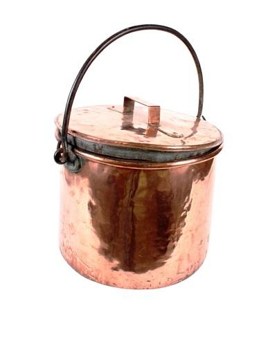 Vintage 19th Century Copper Pot