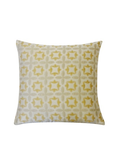 Motif Throw Pillow, Gold