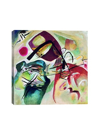 Wassily Kandinsky's With Black Arch Giclée Canvas Print