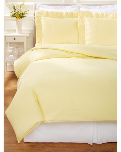 500 Thread Count Percale Duvet Cover Set