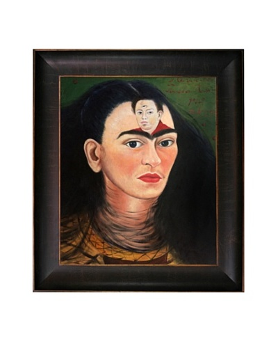 Frida Kahlo's Diego and I Framed Reproduction Oil Painting