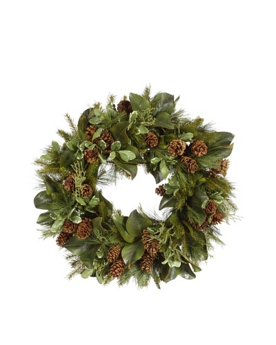 Evergreen Foliage Wreath