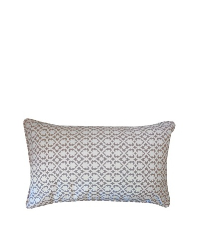 Speed Throw Pillow, Grey