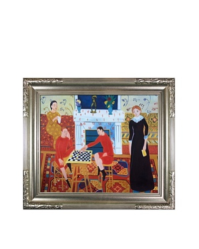 """The Artist's Family"" Framed Reproduction Oil Painting by Henri Matisse"