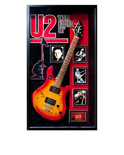 Signed U2 Guitar