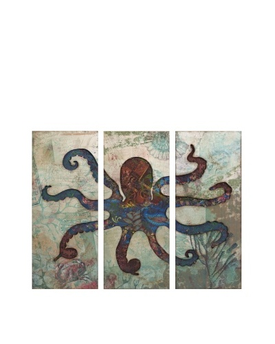 Splash Octopus Tryptych