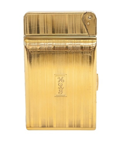 "Gold ""HRY"" Engraved Lighter"