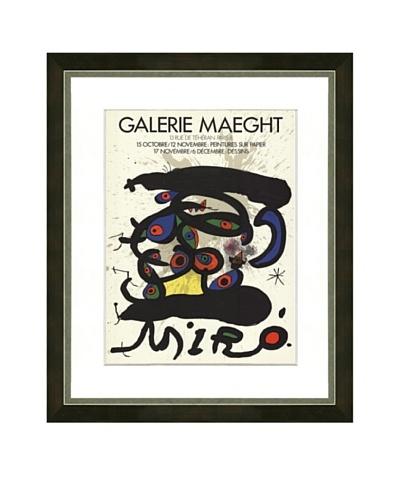 Miró: Peintures sur Papier-Dessins