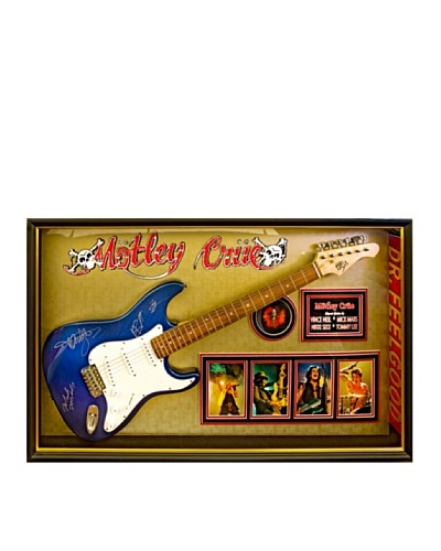 Signed Mötley Crüe Guitar