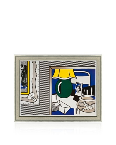 Two Paintings: Green Lamp, Roy Lichtenstein