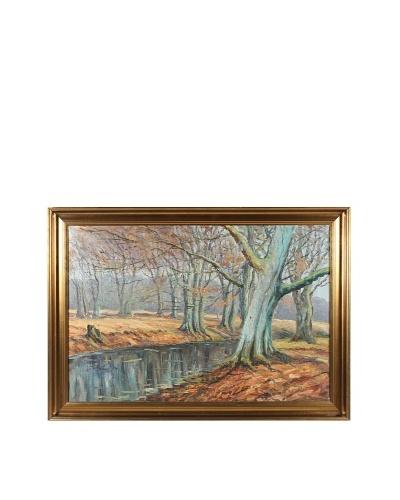 Autumn Stream Framed Artwork