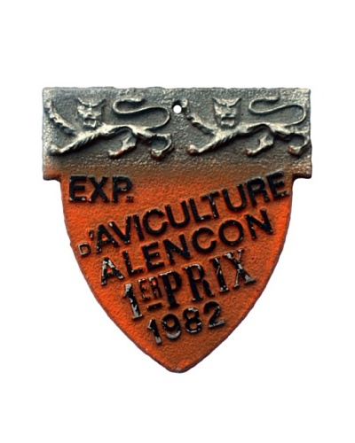 Steel French Sign Exp. Aviculture Alencon Rix