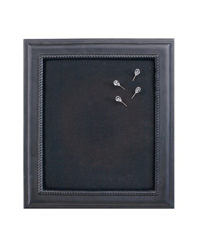 Black Wall Memo Board