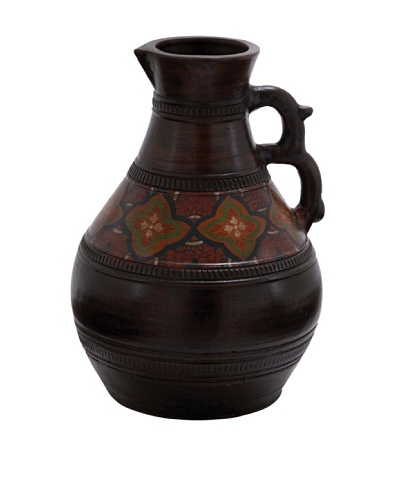 Terracotta Pitcher, Black