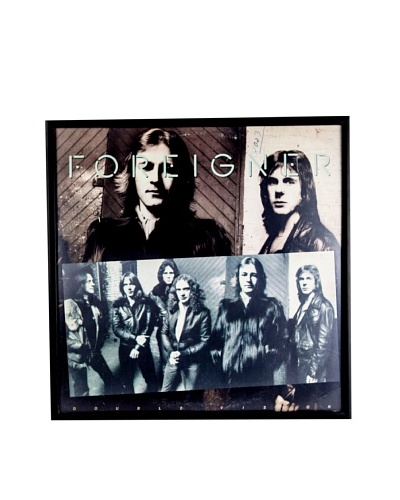 Foreigner: Double Vision Framed Album Cover